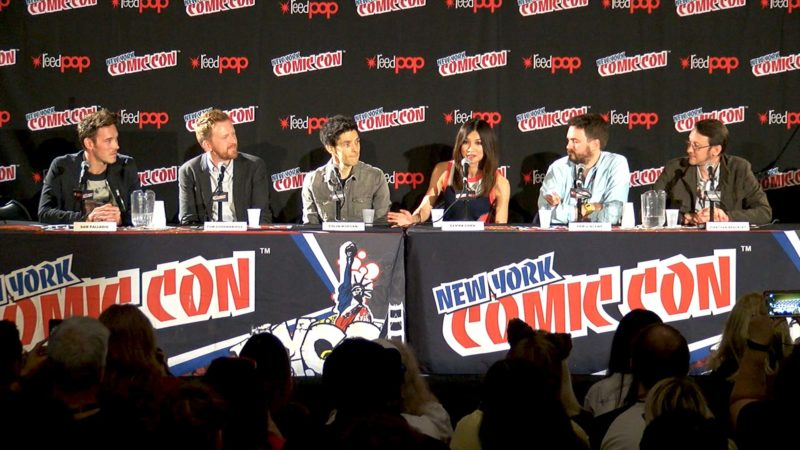 Humans New York Comic-Con Highlights: Artificial Intelligence