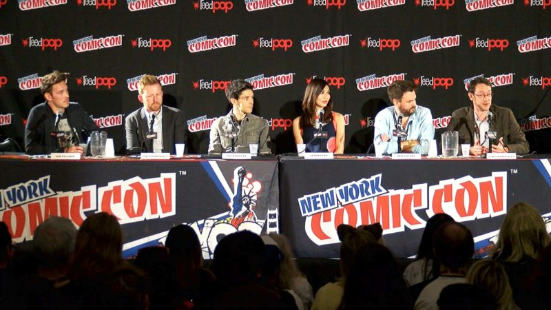 Humans New York Comic-Con Highlights: Consciousness