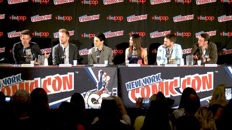Humans New York Comic-Con Highlights: New Faces