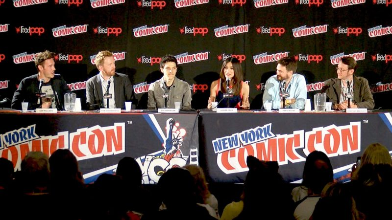 Humans New York Comic-Con Highlights: Synth Bootcamp
