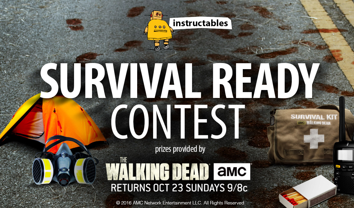 Show Off Your Survival Skills to Win a TWD Prize Package From Instructables