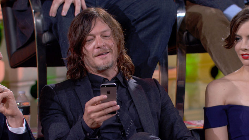 (SPOILERS) Talking Dead Highlights: Season 7, Episode 1: Norman Reedus on Daryl's Guilt