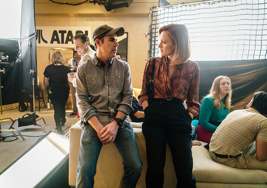 Halt and Catch Fire Season 3 Behind-the-Scenes Photos