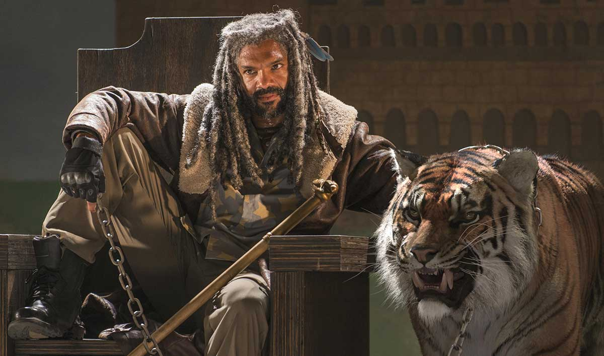 (SPOILERS) <em>The Walking Dead</em> Q&#038;A &#8212; Khary Payton (King Ezekiel)