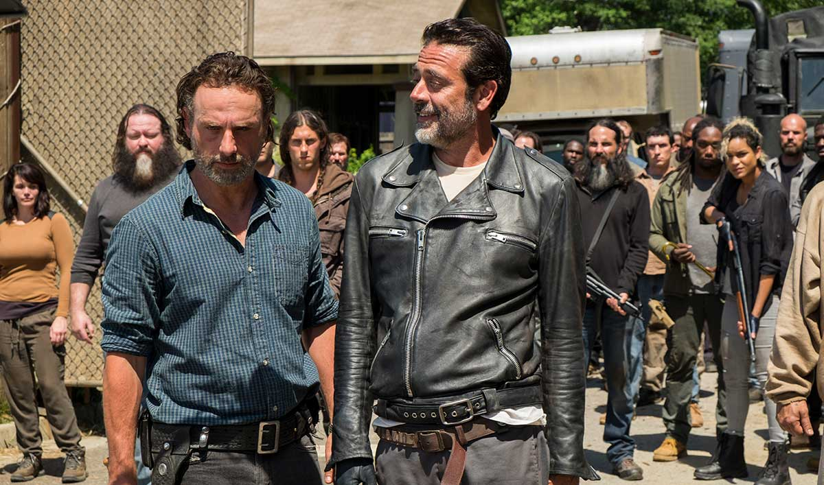 "Will Rick Let Negan Wreak Havoc on Alexandria? Watch ""Service"" to Find Out"