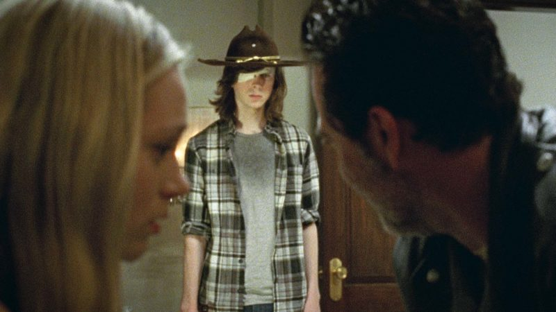 Teaser for The Walking Dead Season 7, Episode 7: Carl Inside The Sanctuary