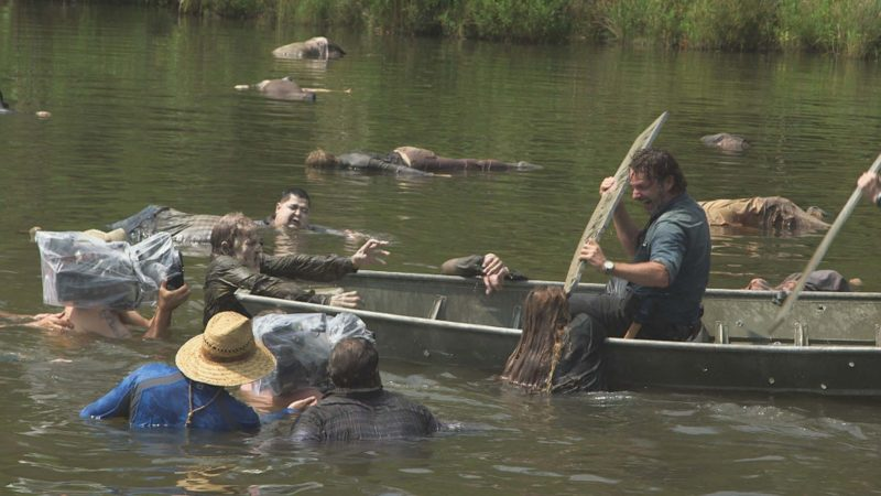 (SPOILERS) Making of The Walking Dead Season 7, Episode 8