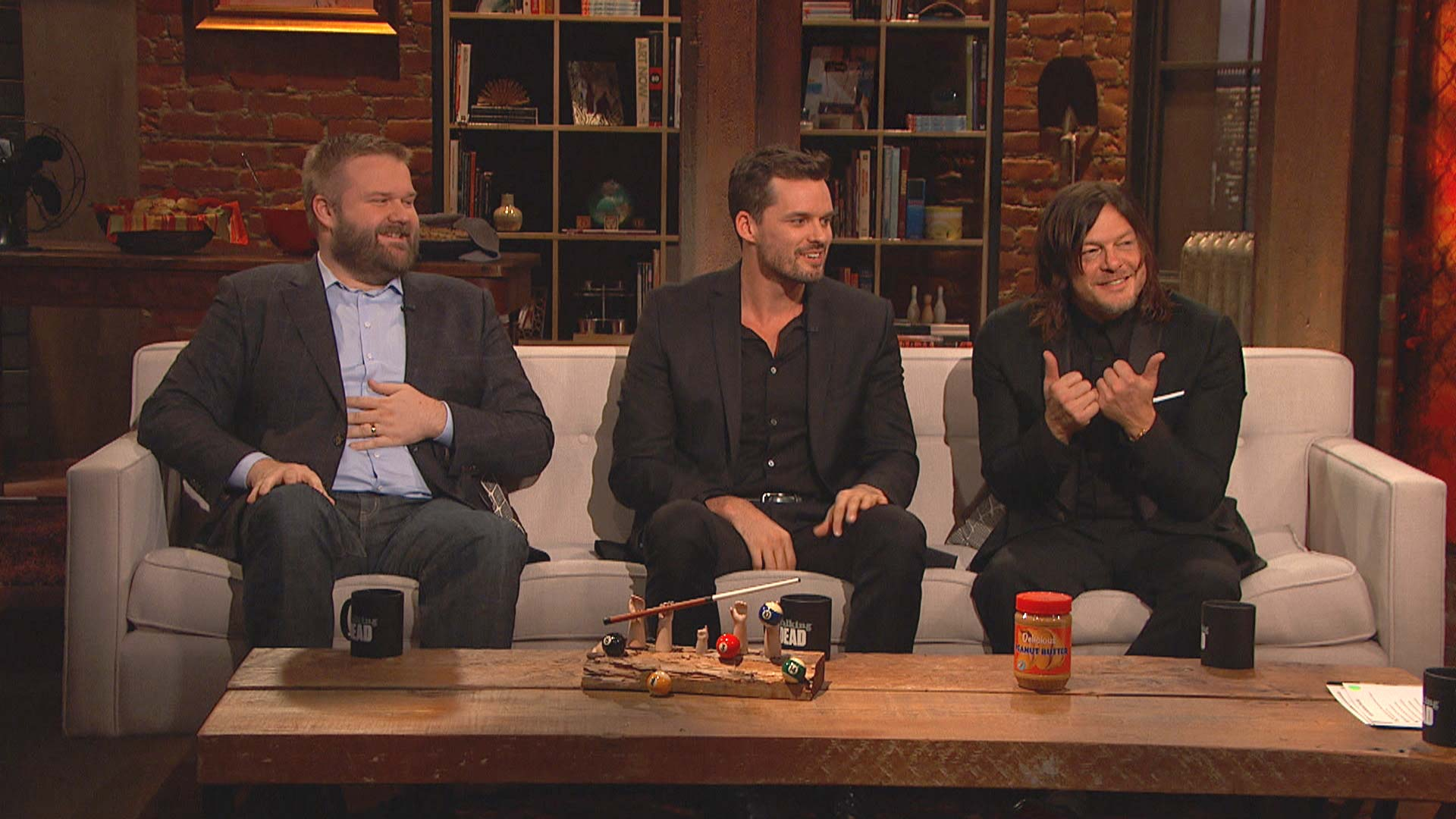 Talking Dead: Highlights: Season 7, Episode 8: Norman vs. Andy