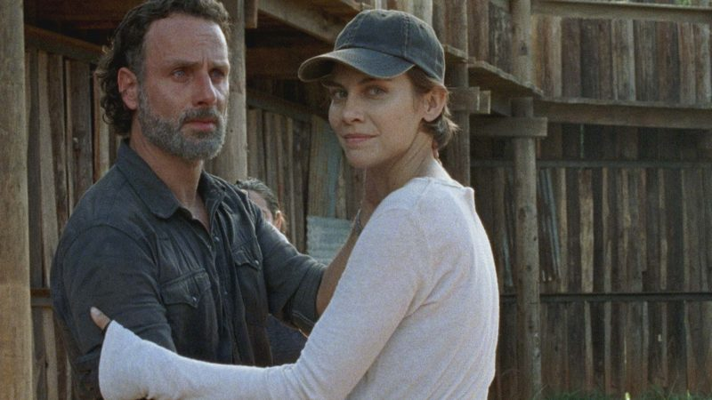 (SPOILERS) Talked About Scene from The Walking Dead Season 7, Episode 8