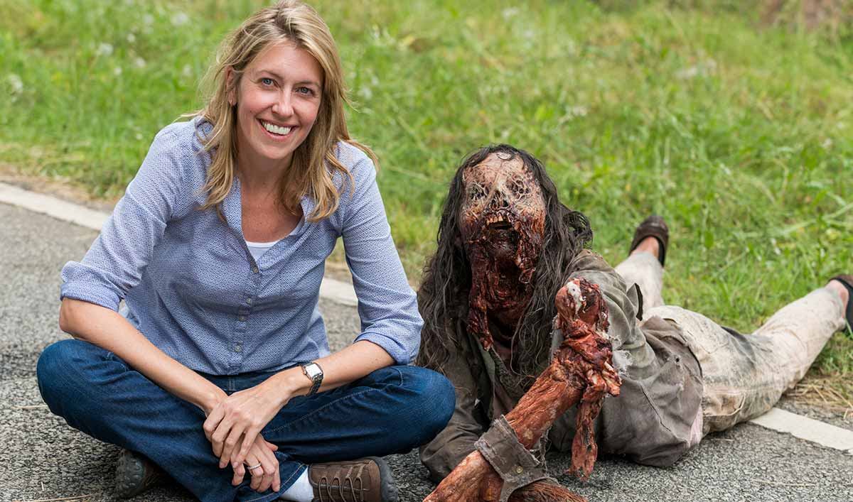<em>The Walking Dead</em> Q&#038;A — Denise Huth (Co-Executive Producer)