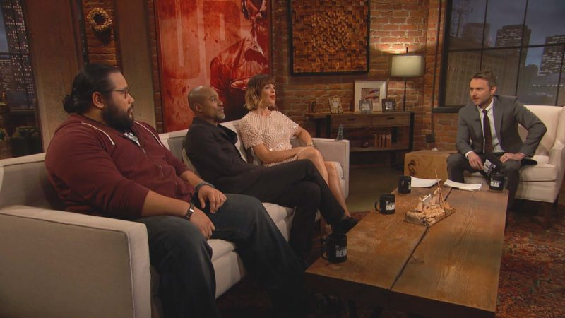 Bonus Scene: Talking Dead: Season 7, Episode 10
