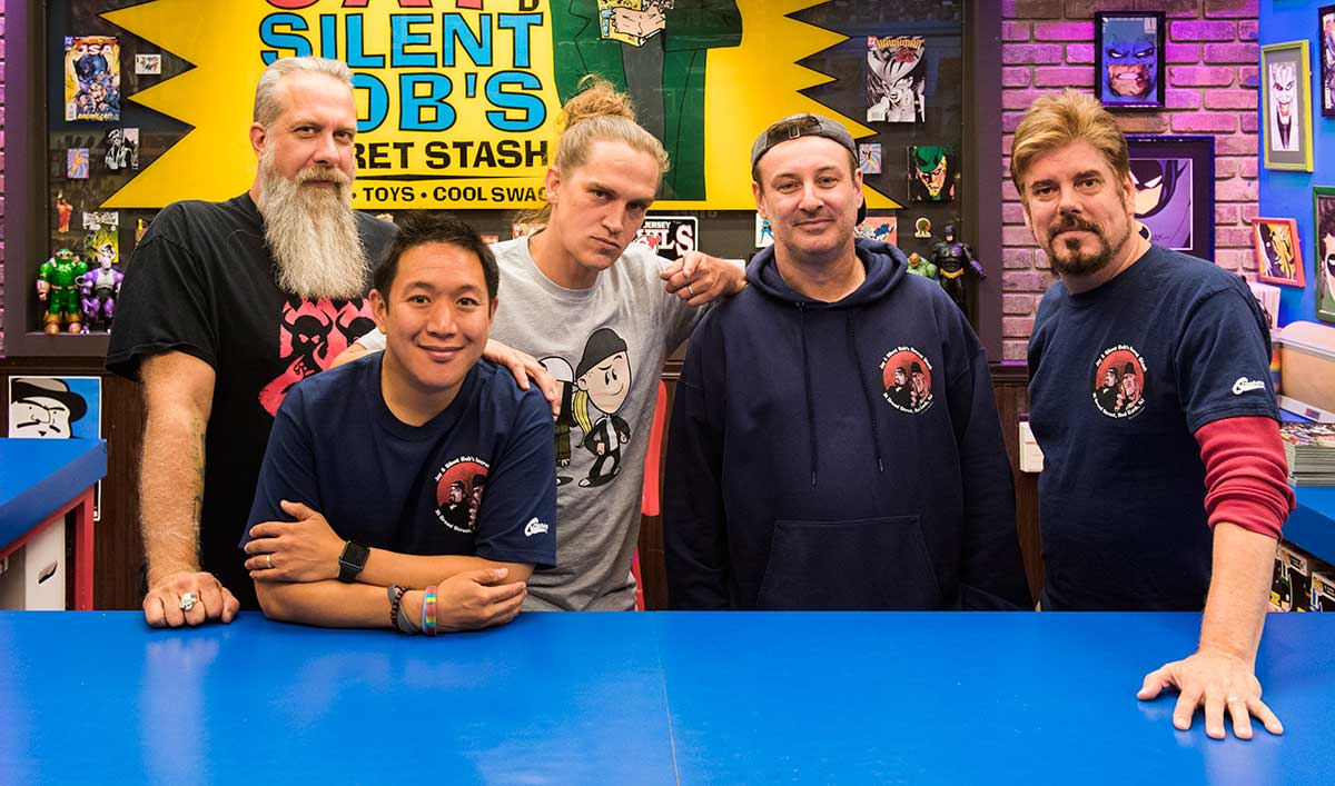 Jason Mewes Is Back at the Stash in the Latest Full Episode