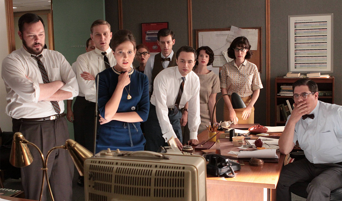 Relive JFK&#8217;s Assassination and More Historical Moments on <em>Mad Men</em>
