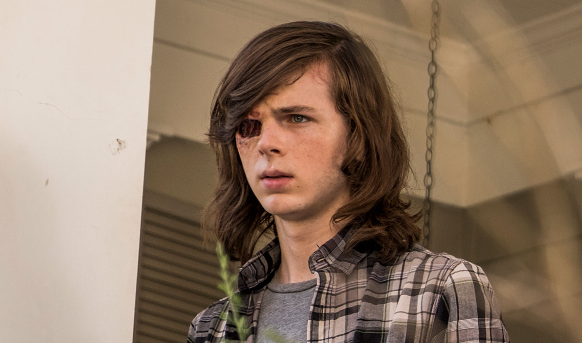 (SPOILERS) <em>The Walking Dead</em> Q&#038;A — Chandler Riggs (Carl Grimes)