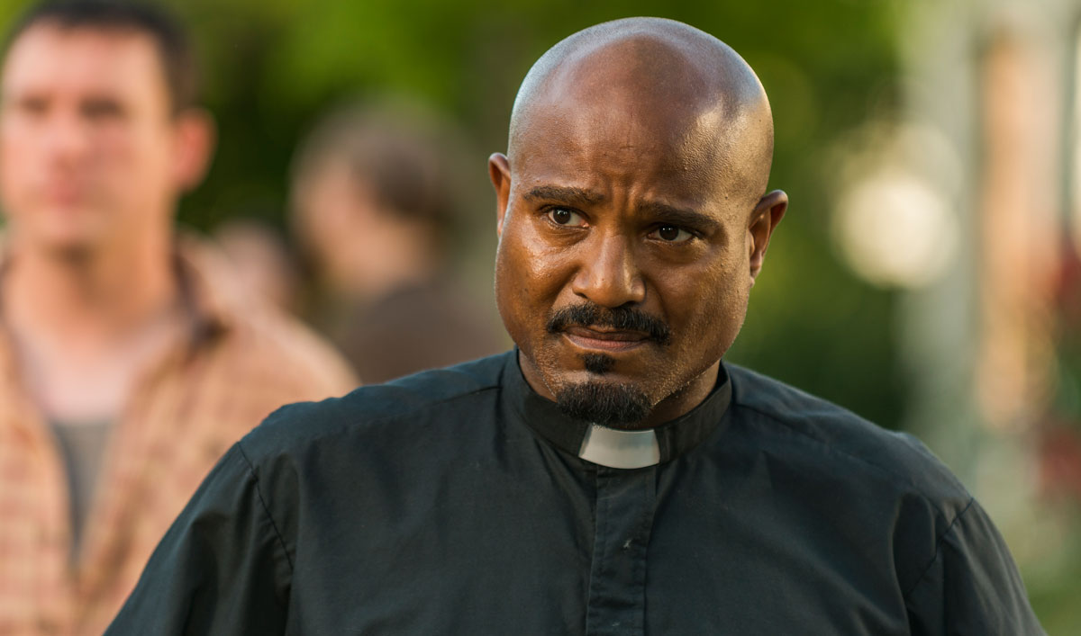(SPOILERS) <em>The Walking Dead</em> Q&#038;A — Seth Gilliam (Gabriel)
