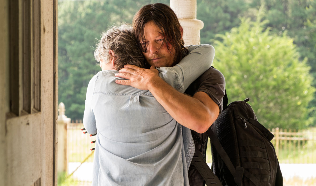 "Inside ""New Best Friends"" — The Cast and Creators on Why Daryl Lies to Protect Carol"