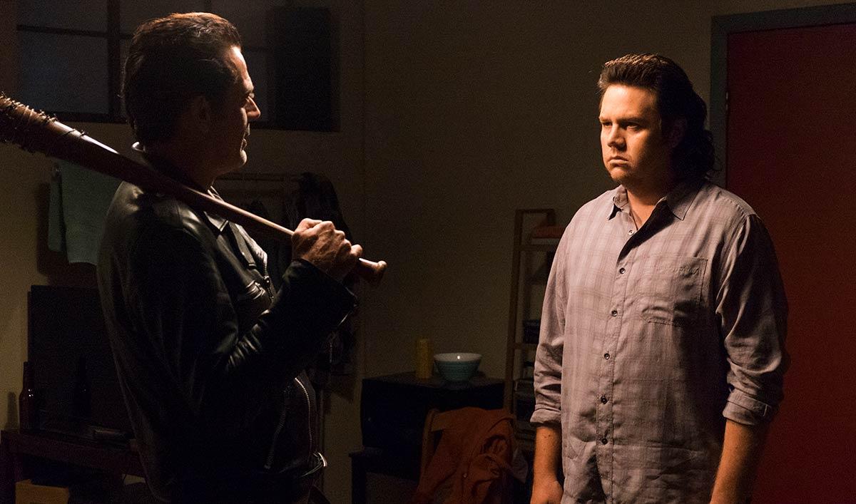 The Sanctuary Brings Out Eugene's Dark Side &#8212; Watch <em>The Walking Dead</em> Season 7, Episode 11