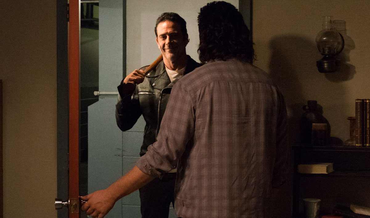 Talked About Scene From <em>The Walking Dead</em> Season 7, Episode 11 — Negan Asks Eugene a Very Important Question