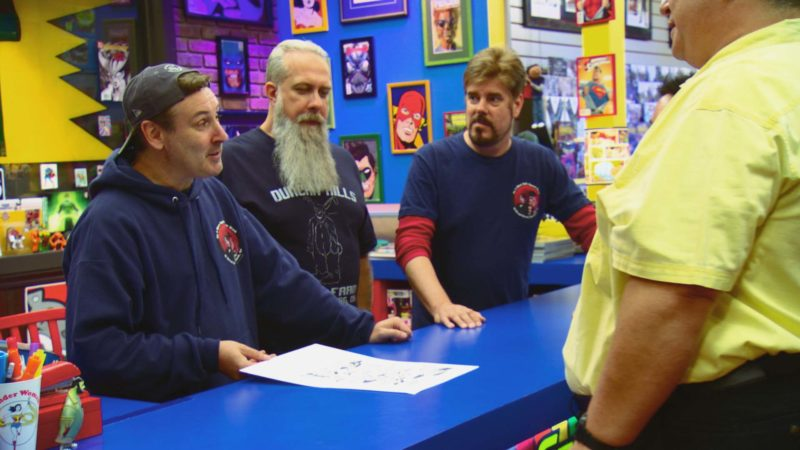 Comic Book Men Talked About Scene: Season 6, Episode 13
