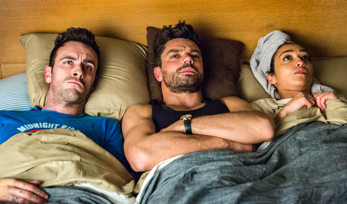 <em>TVLine</em> Selects Sexy Season 2 Scene; Seth Rogen Talks <em>Preacher</em> With <em>Nerdist</em>