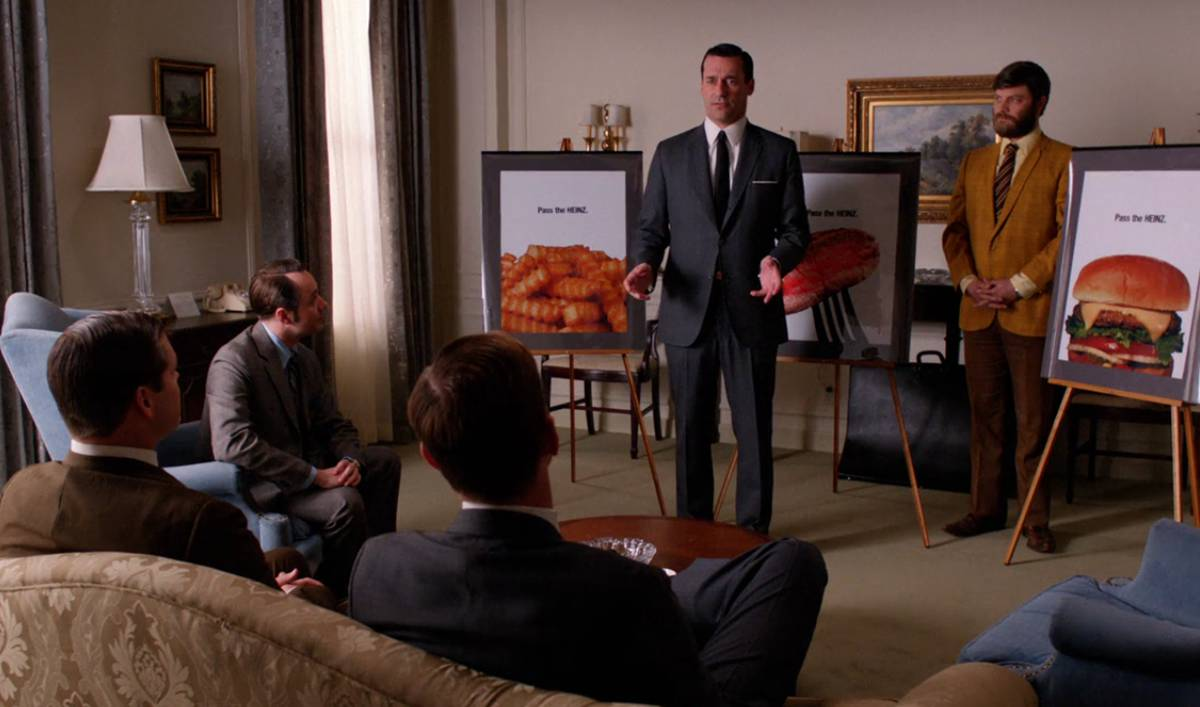 mad men watch the mad men fan cut for a fan made heinz will run don draper s ketchup ads from <em>mad men< em