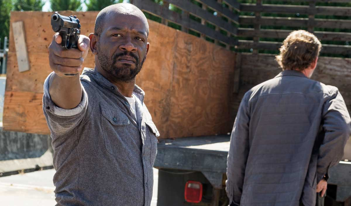 A Routine Drop With the Saviors Leaves Someone Dead — Watch <em>The Walking Dead</em> Season 7, Episode 13