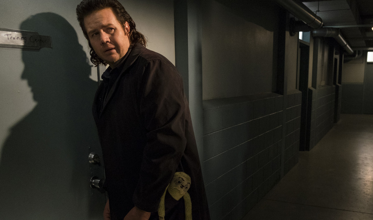 Eugene Gives Sasha a Way Out in a Talked About Scene From <em>The Walking Dead</em> Season 7, Episode 15