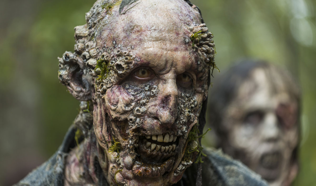 How the Crew Made the Waterlogged Walkers in <em>The Walking Dead</em> Season 7, Episode 15