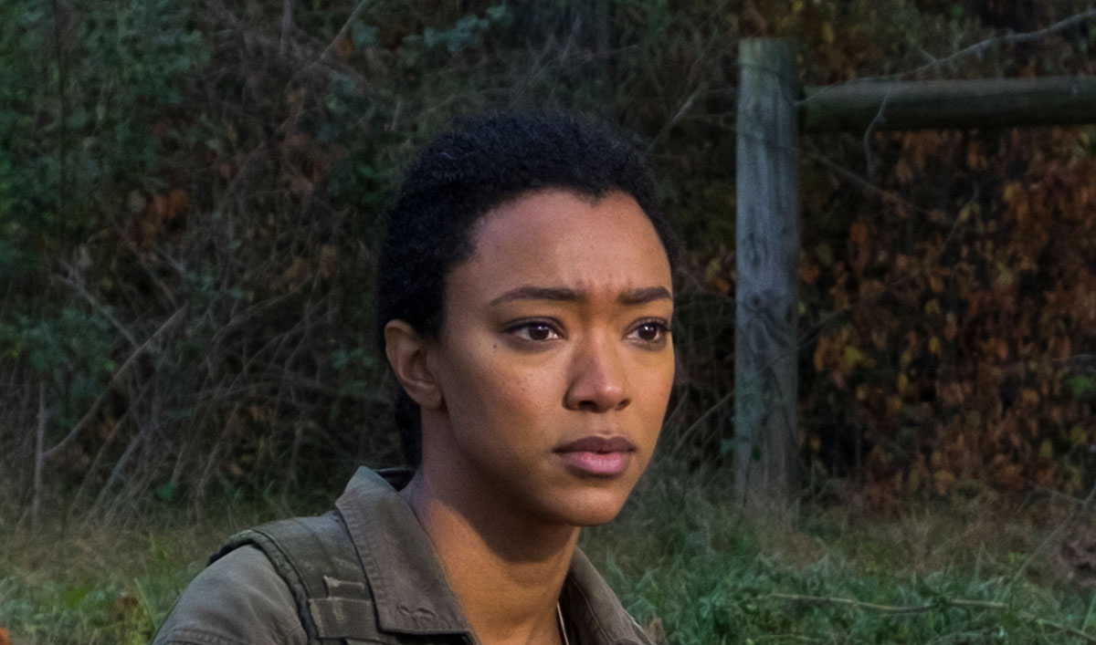 (SPOILERS) <em>The Walking Dead</em> Q&#038;A — Sonequa Martin-Green (Sasha)