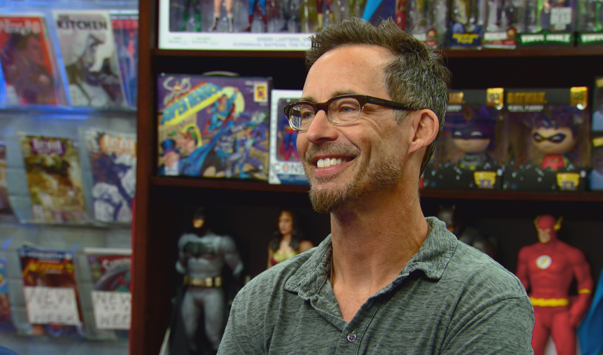 <em>Comic Book Men</em> Q&#038;A &#8211; Tom Cavanagh (<em>The Flash</em>)