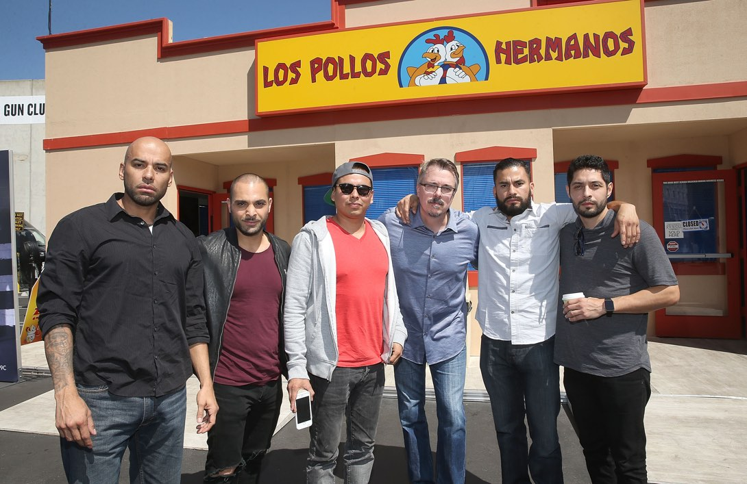 Los Pollos Hermanos Pop Up Draws Fans and <em>Better Call Saul</em> Cast Together Over Curly Fries