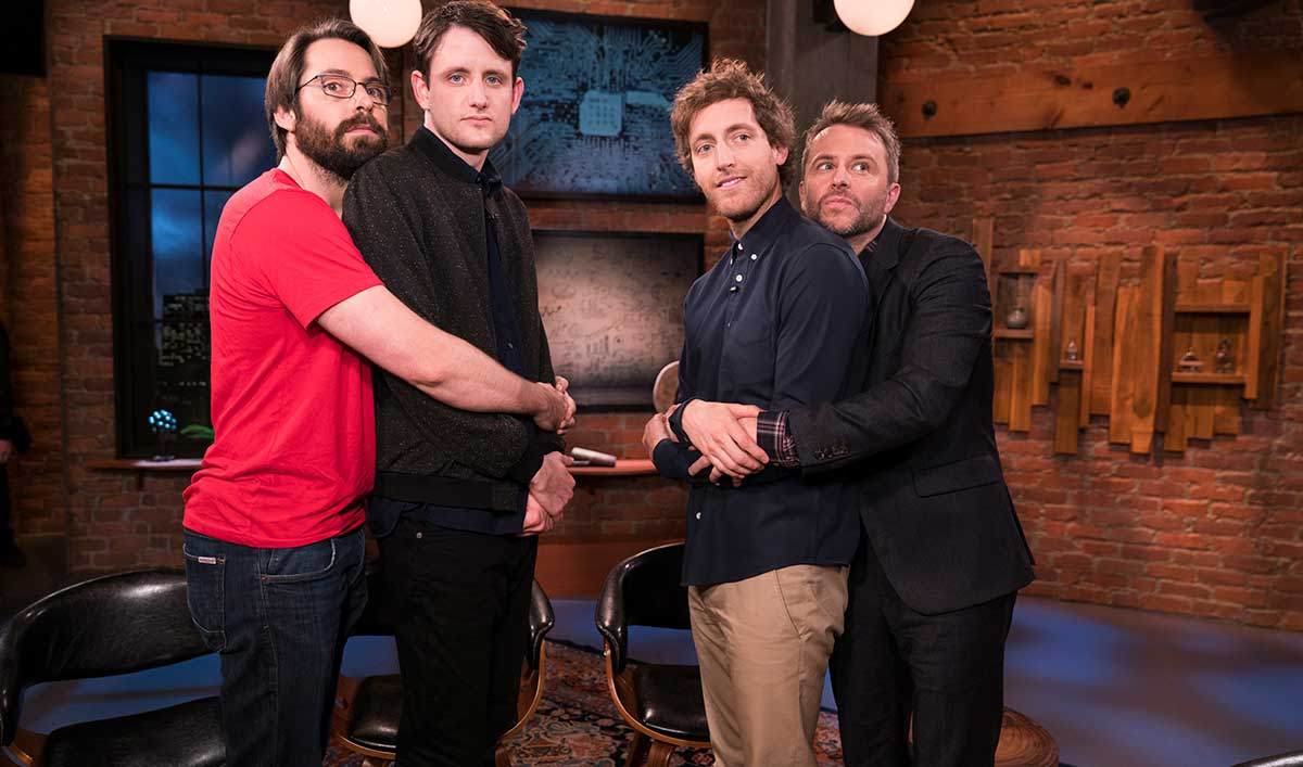 The Stars of <em>Silicon Valley</em> Sit Down With Chris in <em>Talking with Chris Hardwick</em> Episode 2