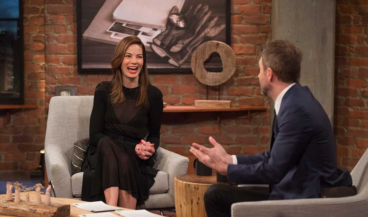 Michelle Monaghan Joins Chris in the Latest <em>Talking with Chris Hardwick</em>