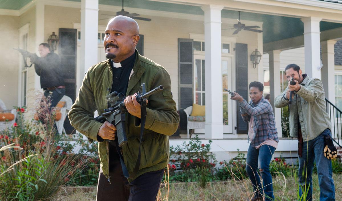 War Erupts in Alexandria in a Talked About Scene From <em>The Walking Dead</em> Season 7 Finale