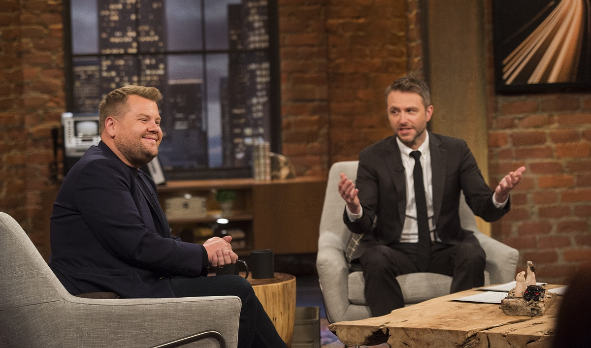 James Corden Joins Chris in the Latest <em>Talking with Chris Hardwick</em>