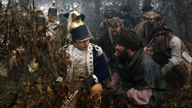 TURN: Washington's Spies Talked About Scene: Season 4, Episode 1