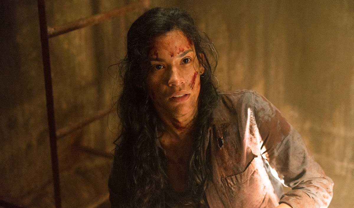 <em>Talking Dead</em> Airs This Sunday at 11/10c With Danay Garcia (Luciana) and Sam Underwood (Jake)