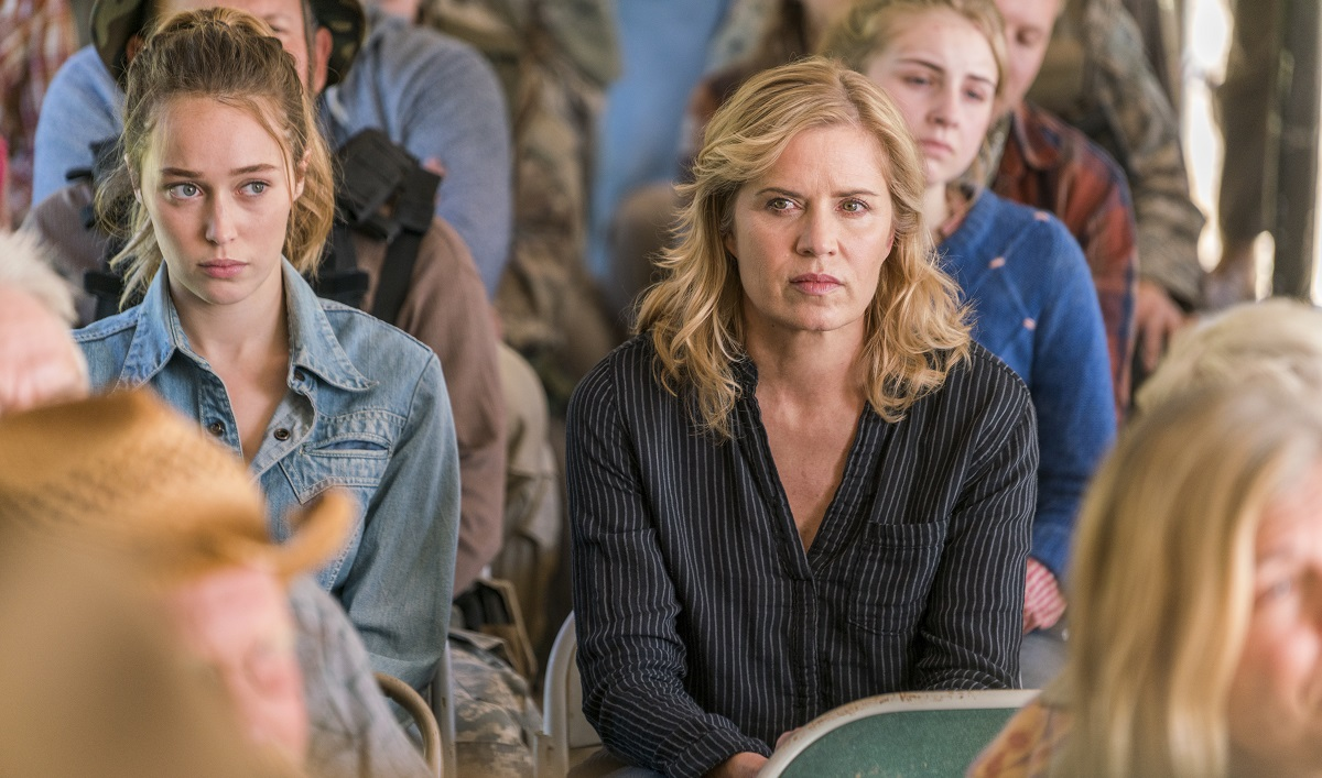 Can the Clarks Prove Their Toughness to a Group of Doomsday Preppers? Watch <em>Fear the Walking Dead</em> Episode 3