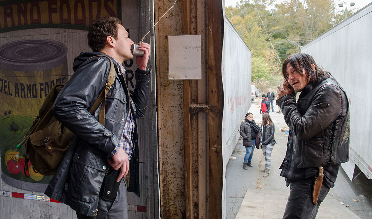 <em>ComicBook</em> Interviews Ross Marquand; <em>CarterMatt</em> Lauds Reedus