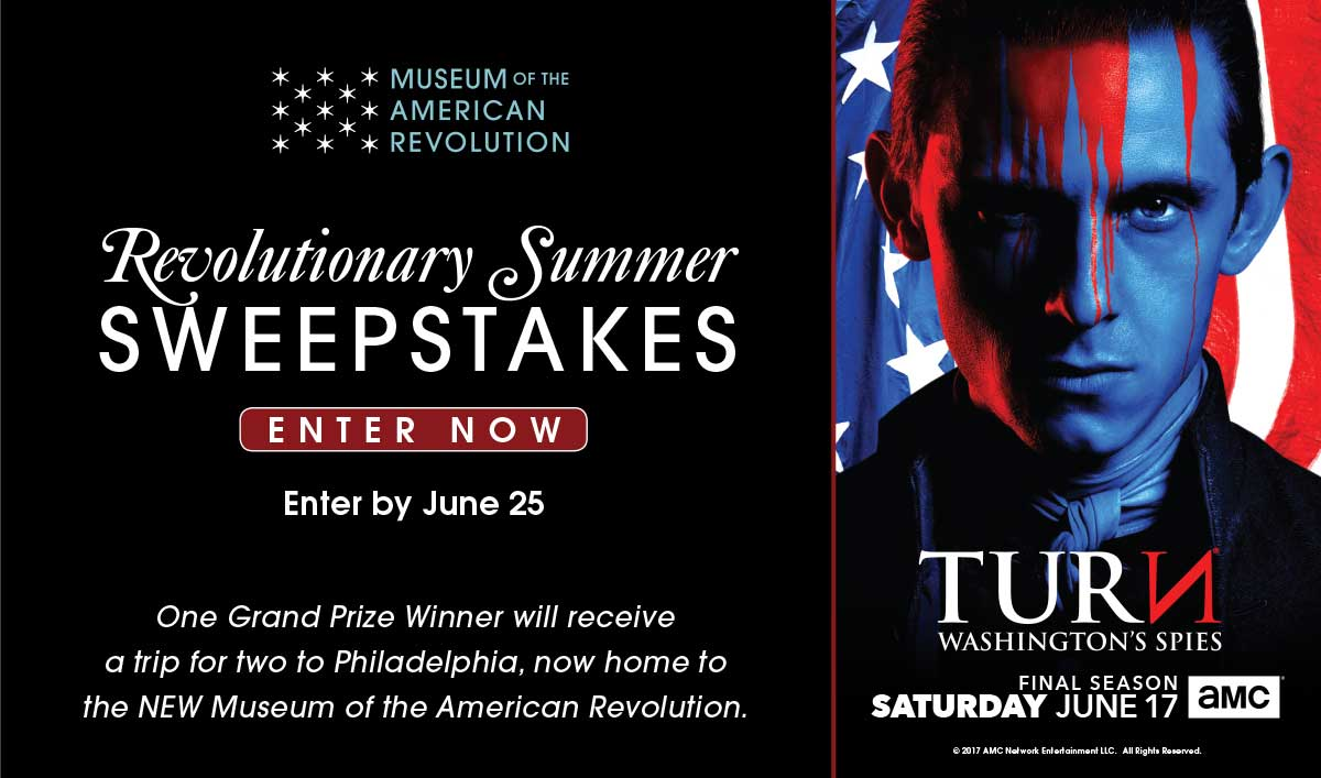 Enter the Revolutionary Summer Sweepstakes for a Chance to Win a Trip for Two to Philadelphia