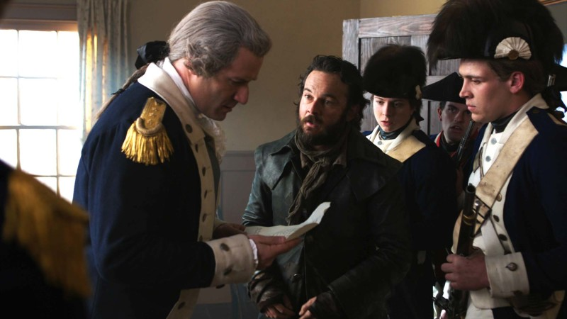 Talked About Scene From Episode 309 of TURN: Washington's Spies