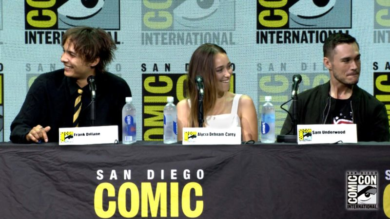Fear the Walking Dead Comic-Con Highlights: All Brits Don't Know Each Other