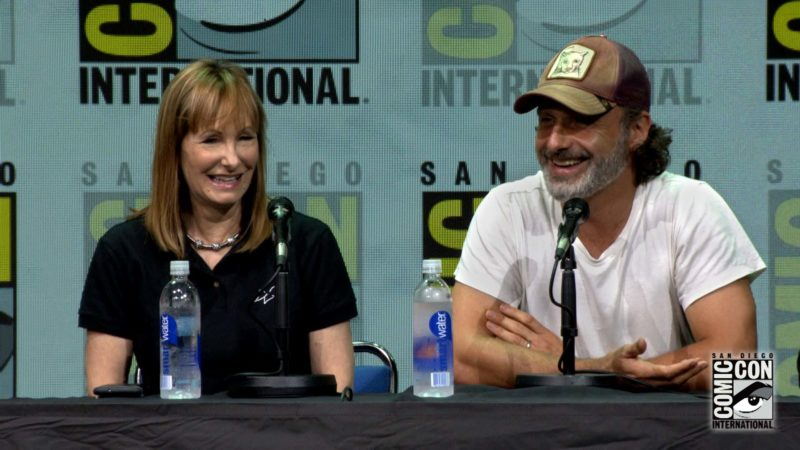 The Walking Dead Comic-Con Highlights: Andrew Lincoln on Carl vs. Coral