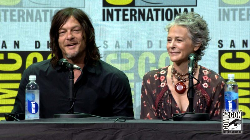 The Walking Dead Comic-Con Highlights: Norman Picks a Name for Maggie's Baby