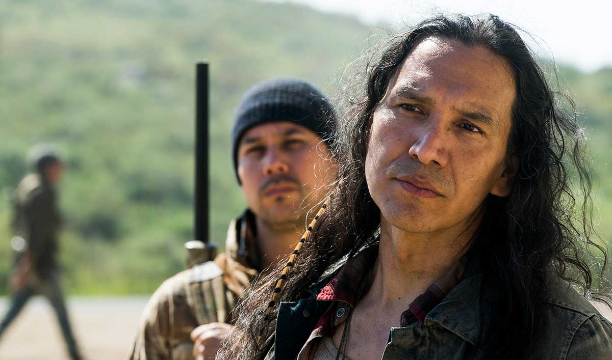 (SPOILERS) <em>Fear the Walking Dead</em> Q&#038;A — Michael Greyeyes (Walker)