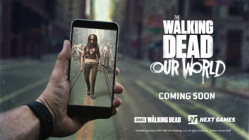 The Walking Dead: Our World Mobile Game Teaser Trailer