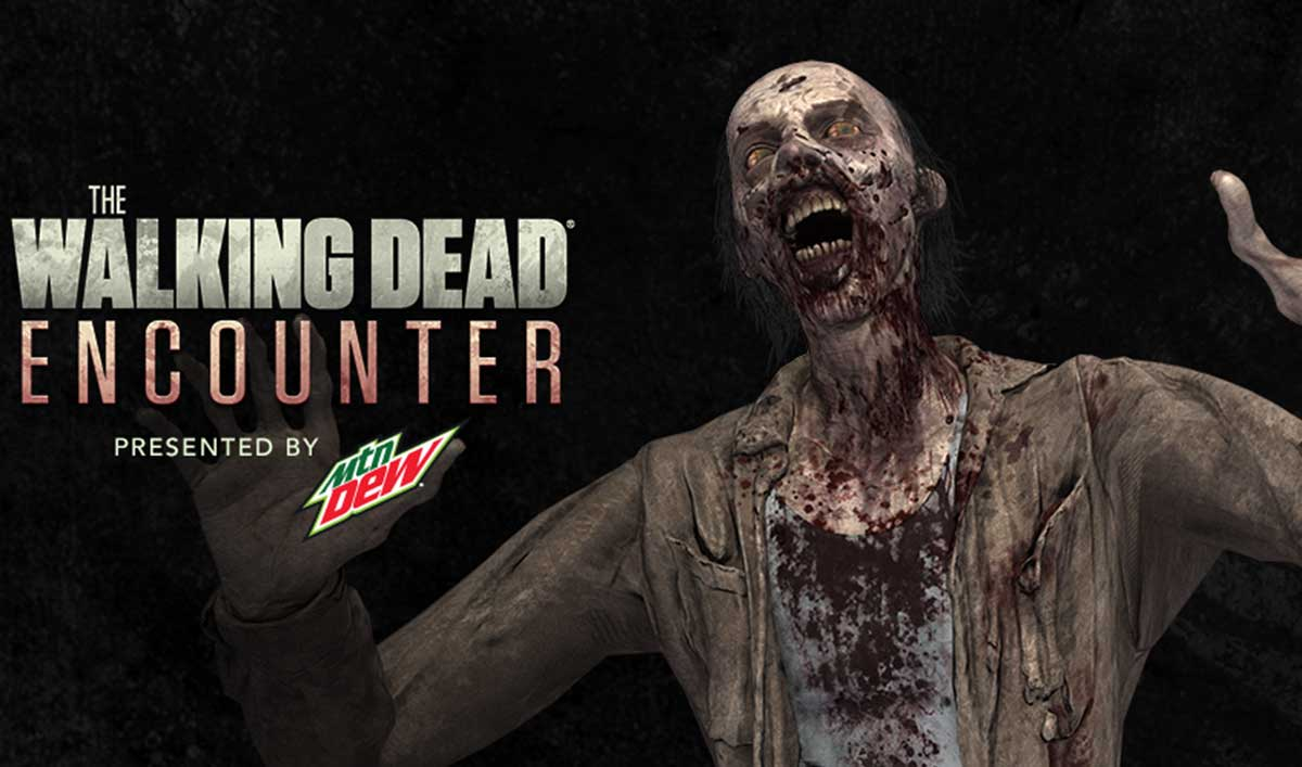 Download the New <em>The Walking Dead Encounter</em> Augmented Reality App to See Walkers IRL