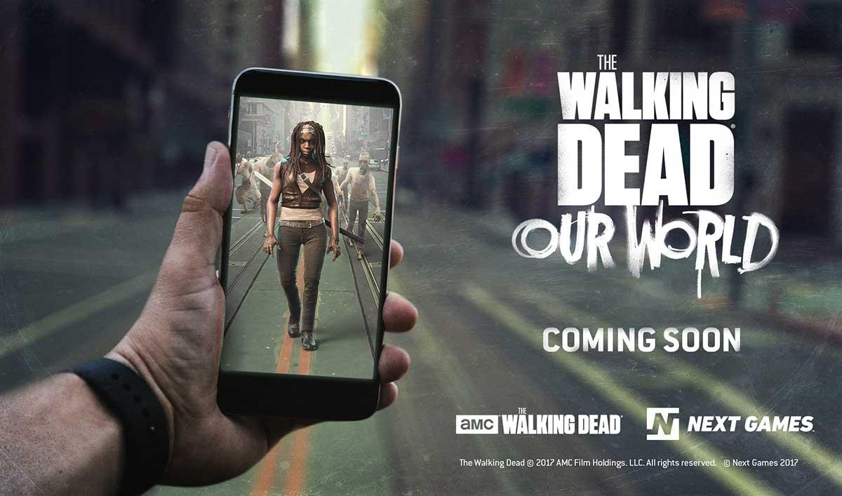 Teaser Trailer for <em>The Walking Dead: Our World</em> Location-Based AR Game