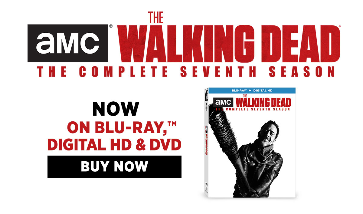 The Walking Dead Season 7 Now Available on Blu