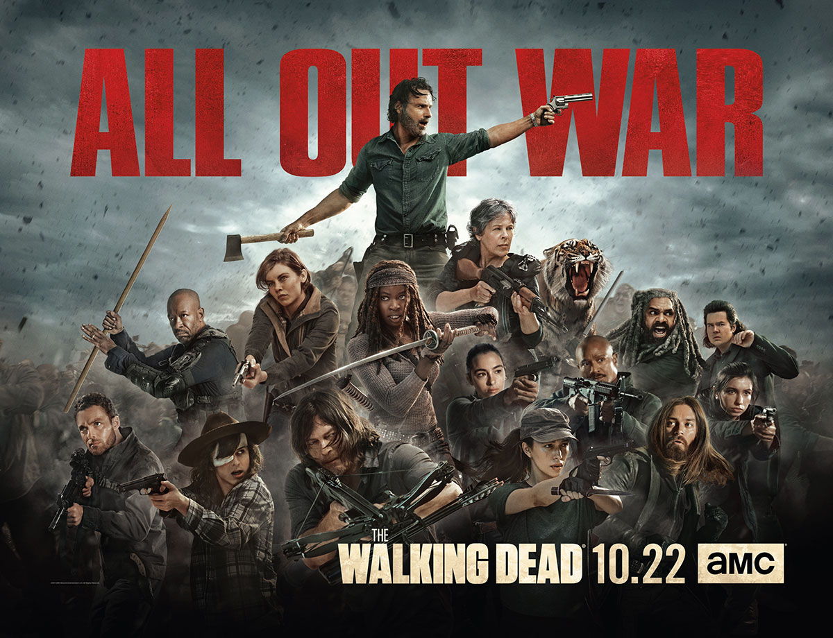 Image result for the walking dead all out war poster